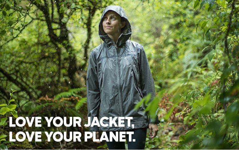 Love your jacket. Love your planet.