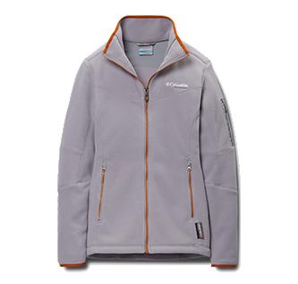 Fleece Jacket On Gray Background