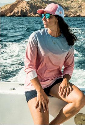 88945f41e Columbia Sportswear - Sun Deflector fishing shirts - another bright ...