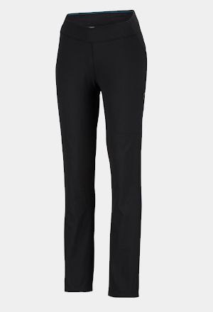A pair of skinny-cut hiking leggings.
