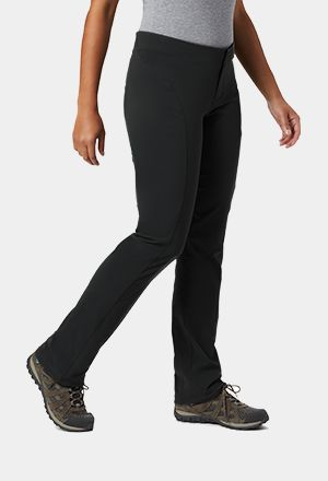 A pair of straight-cut hiking pants.