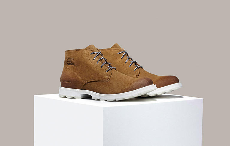 A profile view of the Madson Chukka.