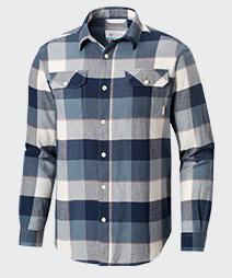 Columbia flannel shirt for men.