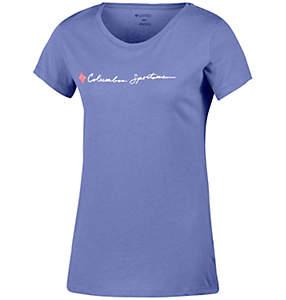 Camiseta de manga corta CSC Script Logo™ para mujer