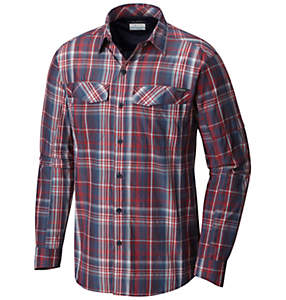Men's Silver Ridge™ Plaid Long Sleeve Shirt
