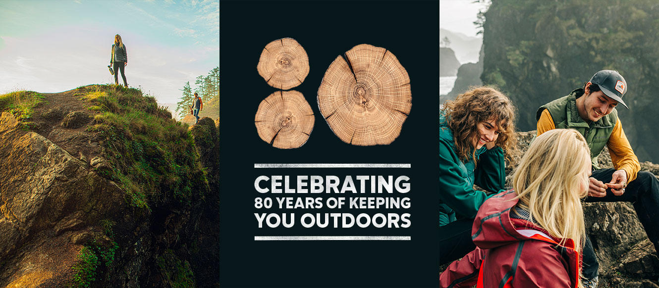 Celebrating 80 years of keeping you outdoors