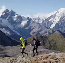 Video still from the UTMB video Beyond Ultra?