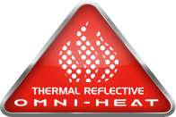 "Logo for ""Thermal reflective Omni-Heat."""