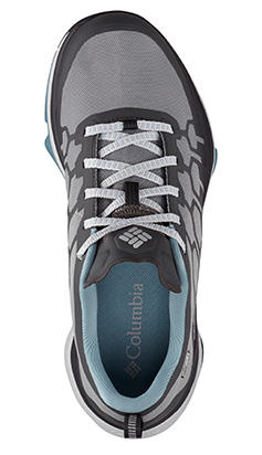 A shoe with Techlite FluidFrame cushioning technology.