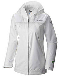 Women's OutDry Ex Eco Jacket in white.