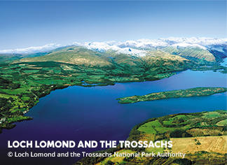 A picture of Loch Lomond and the Trossachs National Park