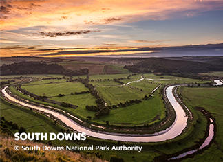 A picture of the South Downs National Park