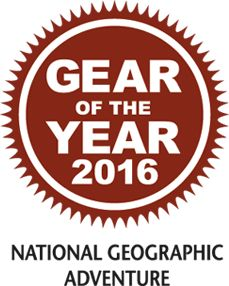 Gear of the Year 2016 National Geographic Adventure logo