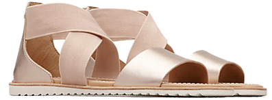 A pair of spring Ella Sandals on a white background