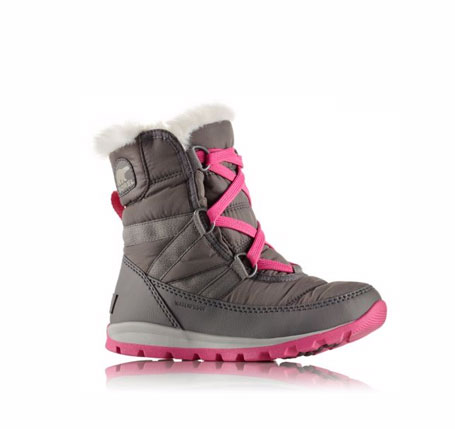 a whitney short lace boot for little girls