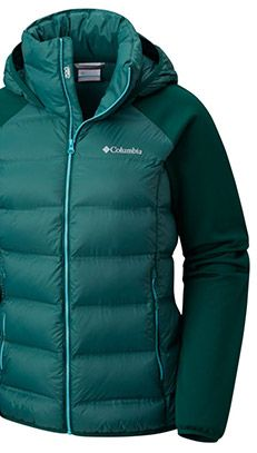 A jacket with Heat Seal technology.
