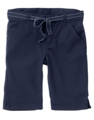 Uniform Belted Bermuda Short