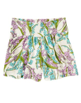 Lily Floral Swing Short