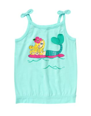 Mermaid Bow Tank