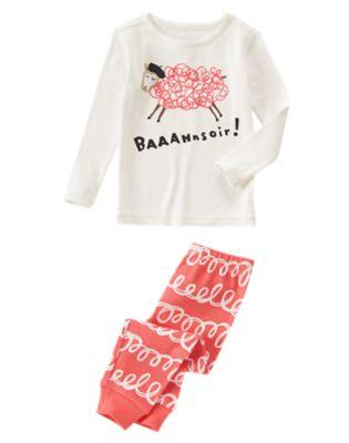 Baaahnsoir 2-Piece Pajama Set