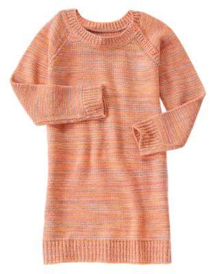 Multi-Knit Sweater Dress