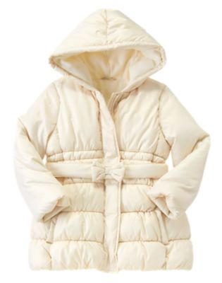 Foil Coated Puffer Jacket