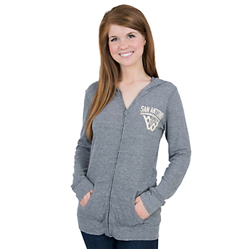 San Antonio Spurs Adidas Womens Internet Full-Zip Hoody