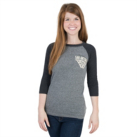 San Antonio Spurs Adidas Womens Internet 3/4 Sleeve Tee