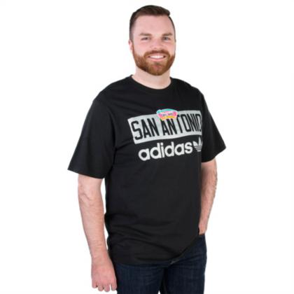 San Antonio Spurs Adidas Straight Talk Tee