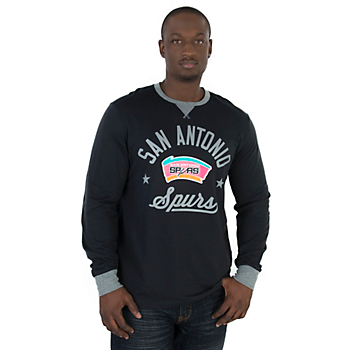 San Antonio Spurs Adidas Long Sleeve Crew