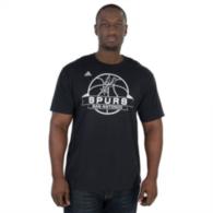 San Antonio Spurs Adidas Ultimate Banner Go To Tee