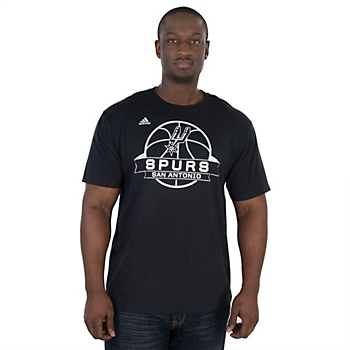 San Antonio Spurs Adidas Ultimate Banner Go To Tee