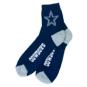 Dallas Cowboys Mens Navy Quarter Socks