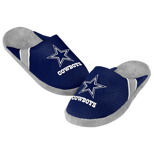 Dallas Cowboys Youth Jersey Slippers