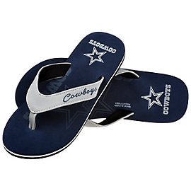 Dallas Cowboys Women's Contour Flip Flops