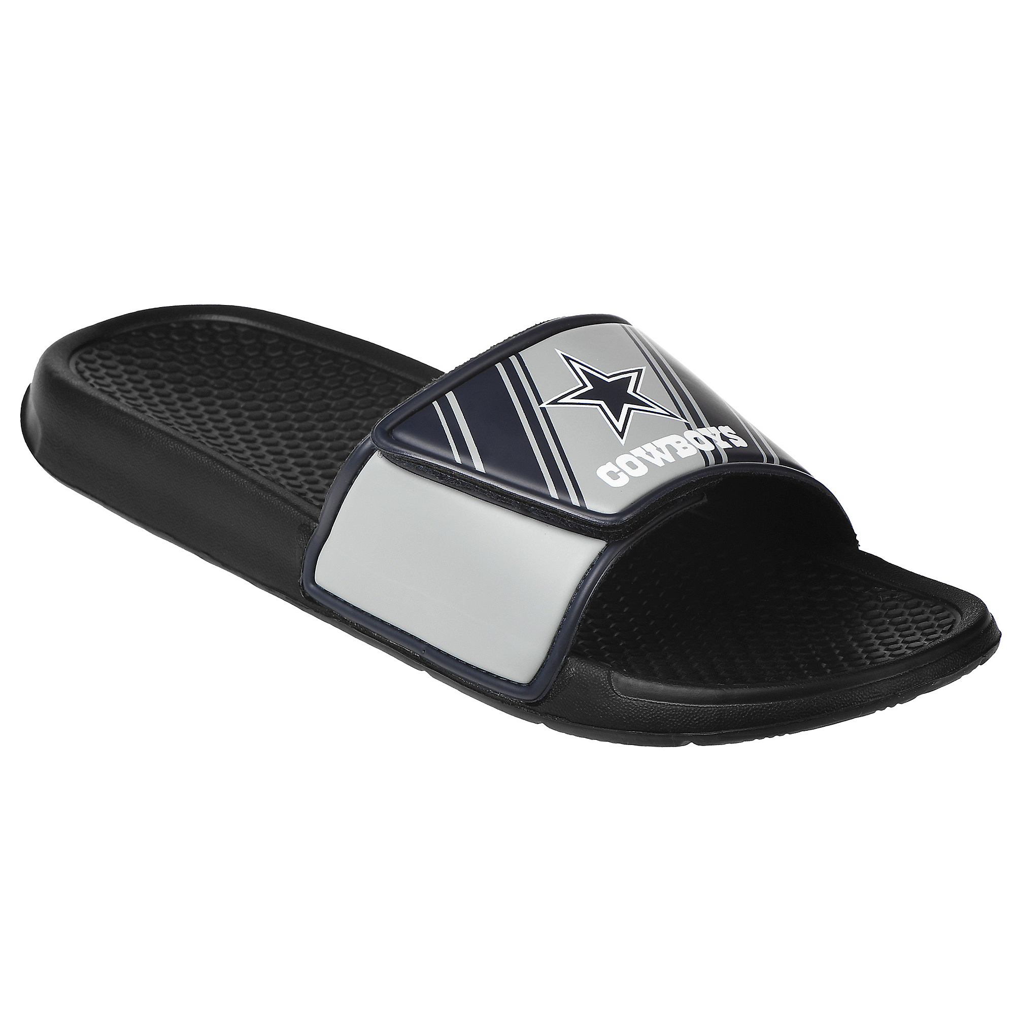 Dallas Cowboys Youth Legacy Sport Slide Flip Flops