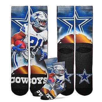Dallas Cowboys Ezekiel Elliott City Star Socks
