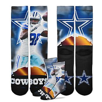 Dallas Cowboys Dez Bryant City Star Socks