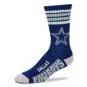 Dallas Cowboys 4-Stripe Deuce Socks