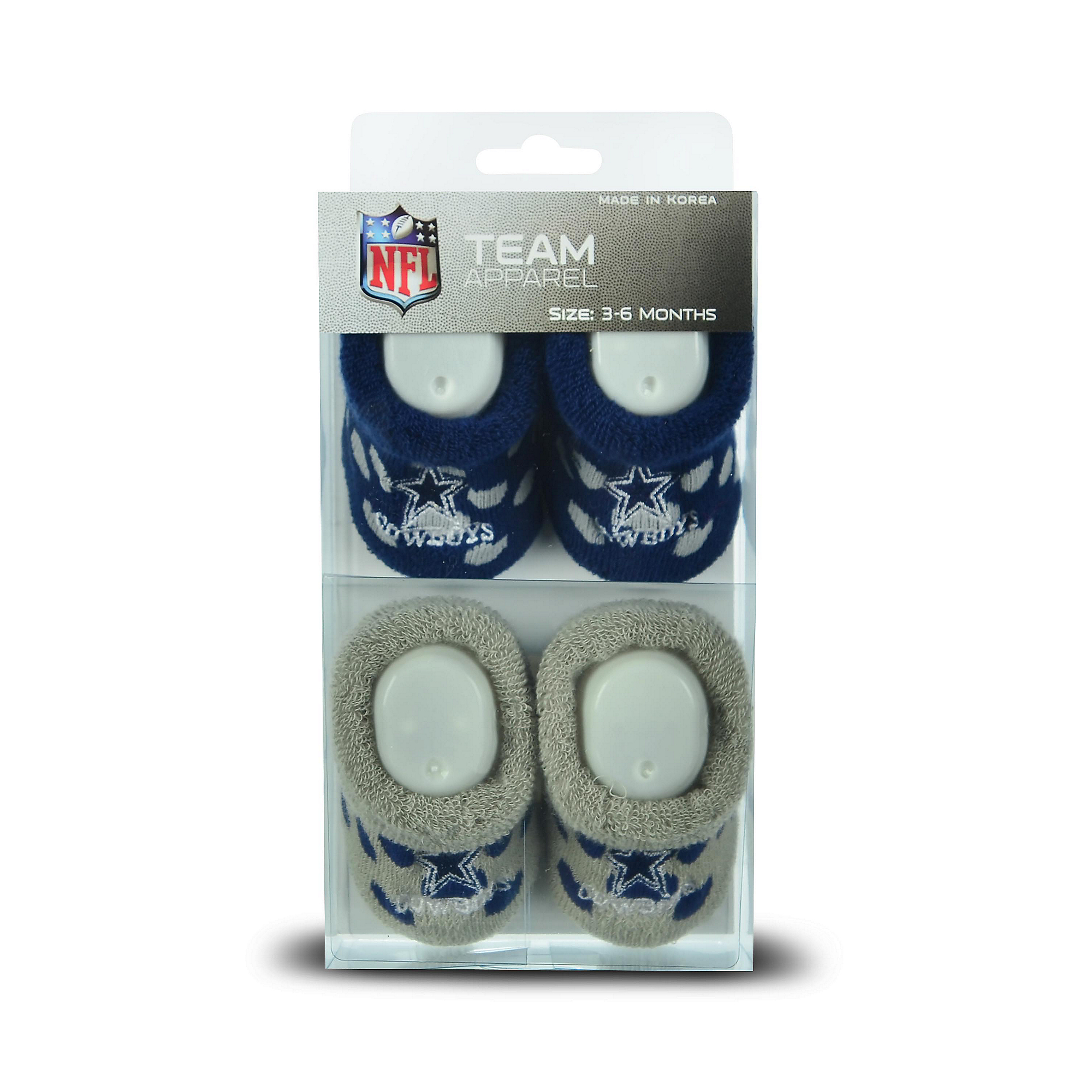 Dallas Cowboys Polka Dot Socks