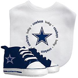 Dallas Cowboys Bib & Prewalker Set