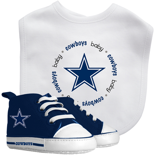Dallas Cowboys Bib & Prewalker Set