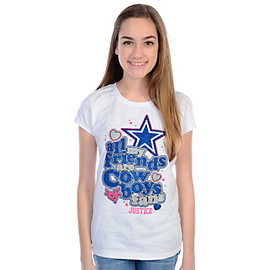 Dallas Cowboys Justice All Friends Tee