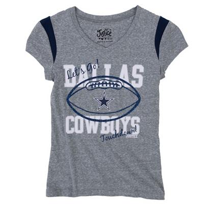 ... Dallas Cowboys Justice Football Shirt Justice Girls Kids Cowboys  Catalog Dallas Cowboys Pro ... 39239622b