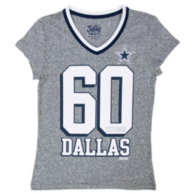 Dallas Cowboys Justice Peace Love Tee