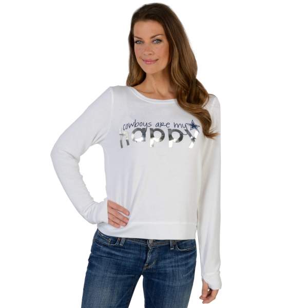 Dallas Cowboys Peace Love World Comfy Top