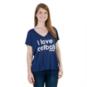 Dallas Cowboys Peace Love World I Love Football Victoria Tee