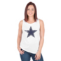 Dallas Cowboys PINK Bling Strappy Back Show Tank