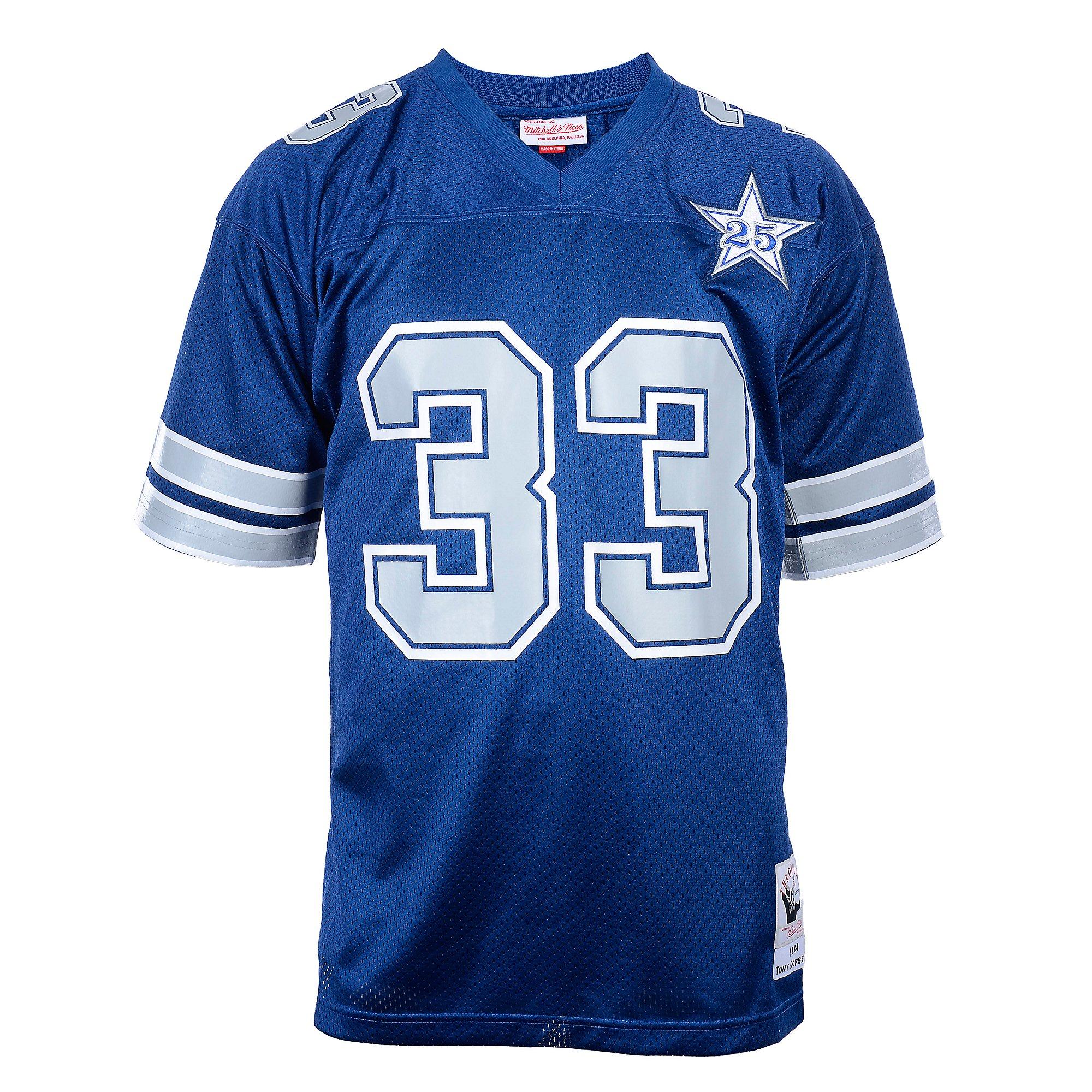 Dallas Cowboys Mitchell & Ness 1984 Tony Dorsett Authentic Jersey ...