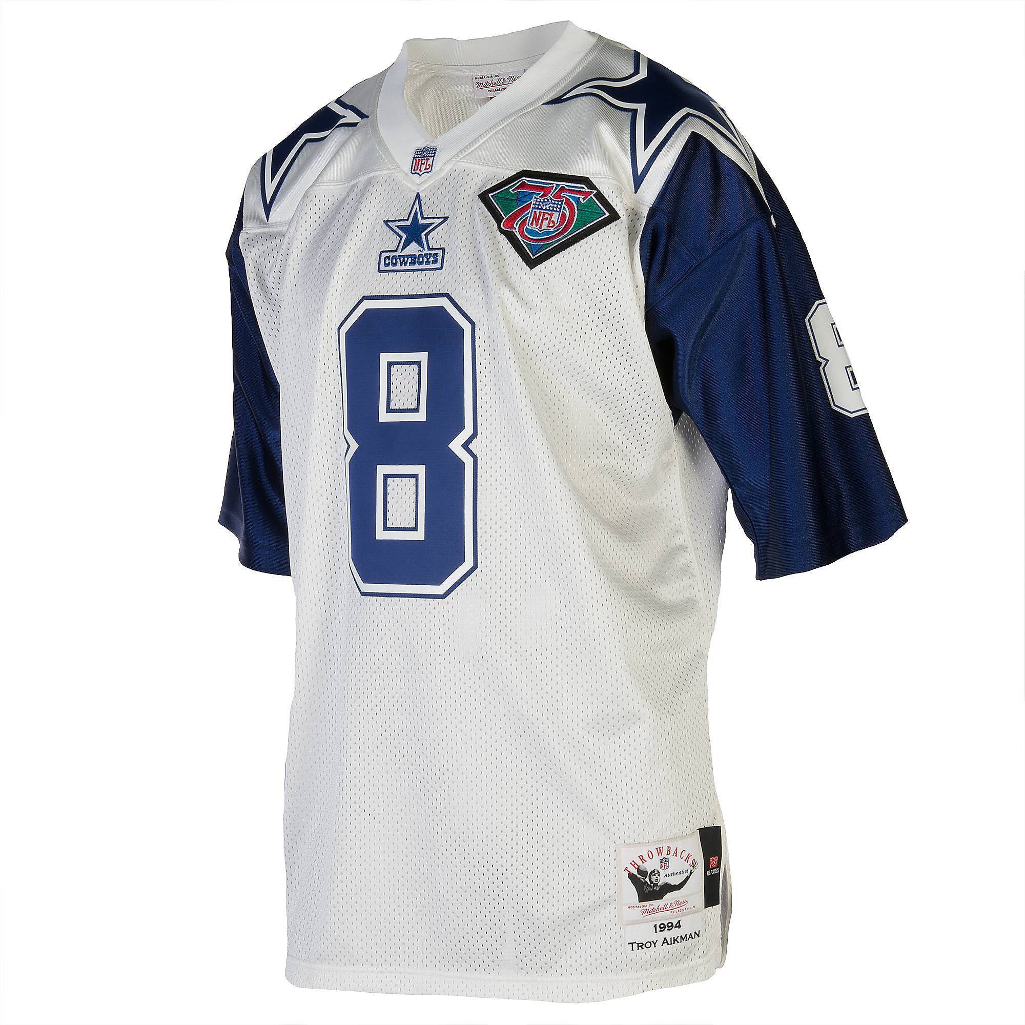 Dallas Cowboys Mitchell & Ness 1994 Aikman Authentic Jersey ...